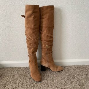 Sam Edelman over the knee suede leather boots! 😍